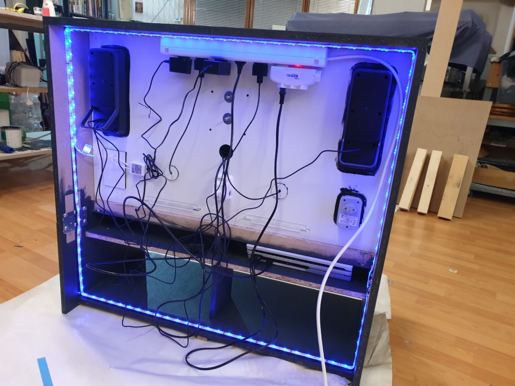 Play Station Cabinet